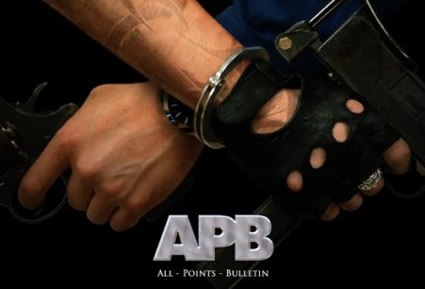 APB game advert