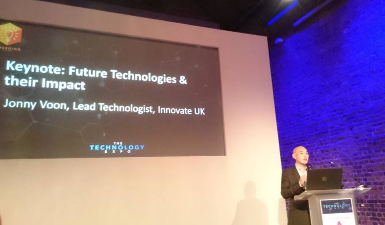 Figure 1: Jonny Voon on future technologies and their impact